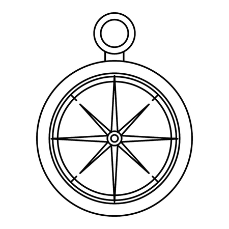 compass guide isolated icon vector illustration design 스톡 콘텐츠 - 112332653