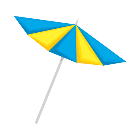 umbrella beach isolated icon vector illustration design 版權商用圖片 - 105704312