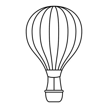 balloon air hot icon vector illustration design Stock fotó - 112332664