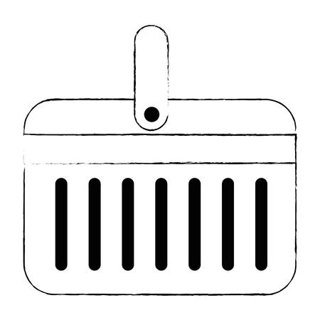 cooler portable isolated icon vector illustration design Stockfoto - 112332718