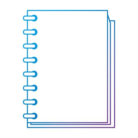 notebook school education icon vector illustration design 版權商用圖片