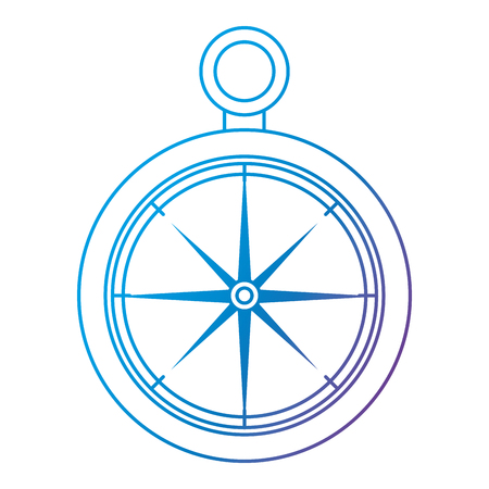compass guide isolated icon vector illustration design Banque d'images - 105720574