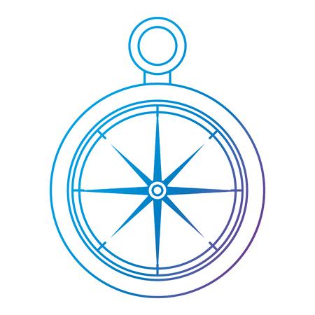 compass guide isolated icon vector illustration design Ilustrace