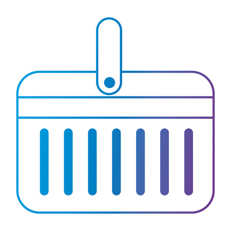 cooler portable isolated icon vector illustration design Stockfoto - 112332749