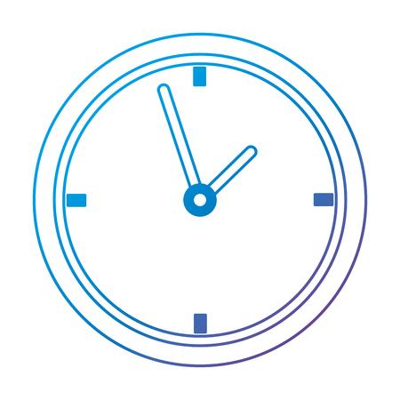 time clock watch ivon vector illustration design Иллюстрация