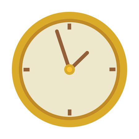 time clock watch ivon vector illustration design Illustration