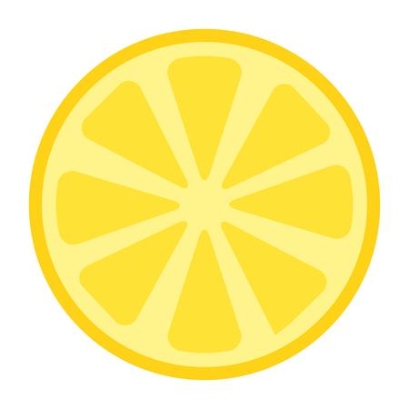 fresh lemon citrus fruit vector illustration design  イラスト・ベクター素材