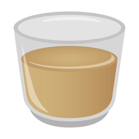dressing sauce cup icon vector illustration design Иллюстрация