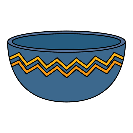 Küchenschüssel leere Ikone Vektor-Illustration Design Vektorgrafik