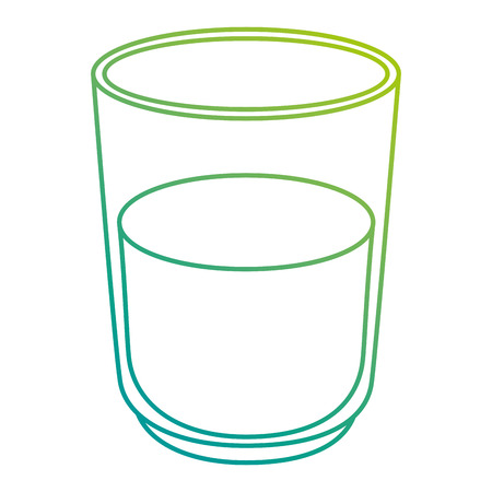 water glass isolated icon vector illustration design Stock Vector - 112283201