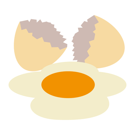 egg cracked isolated icon vector illustration design Фото со стока - 106037346
