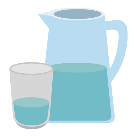 water jar isolated icon vector illustration design Stock Vector - 112283223