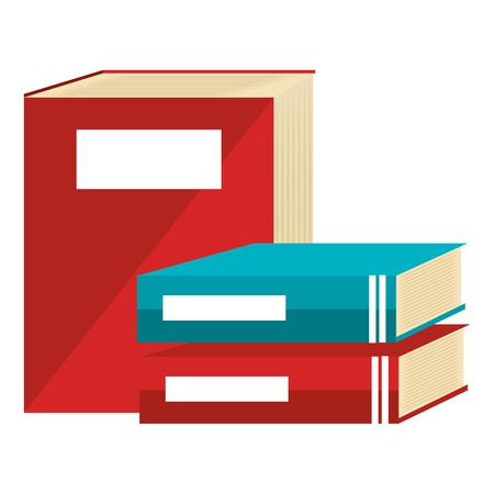 text books school icons vector illustration design