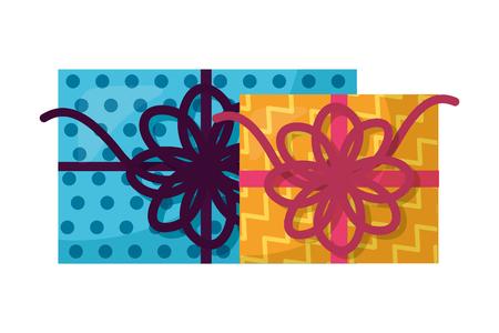 gift boxes present icon vector illustration design