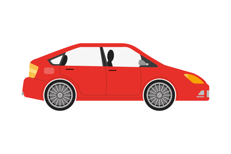 car sedan isolated icon vector illustration design