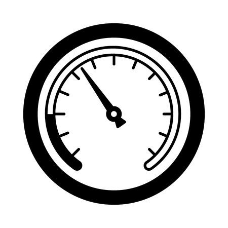 speed gauge isolated icon vector illustration design Archivio Fotografico - 112070667