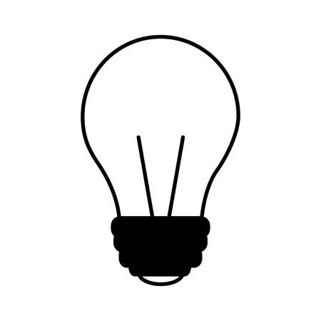 light bulb isolated icon vector illustration design Stok Fotoğraf - 111977212