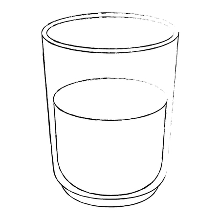water glass isolated icon vector illustration design Stock Vector - 111986979