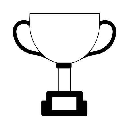 trophy star award prize competition vector illustration 向量圖像
