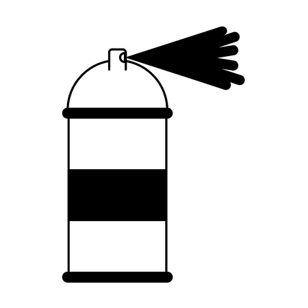spray paint bottle icon vector illustration design Illusztráció