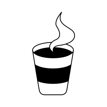 delicious coffee isolated icon vector illustration design