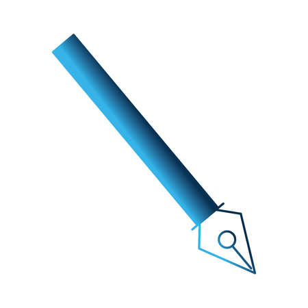 fountain pen isolated icon vector illustration design Çizim