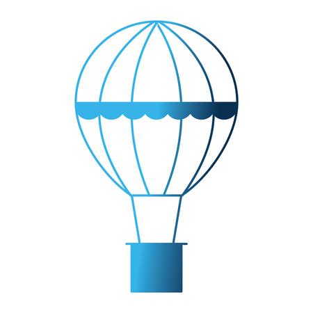balloon air hot flying vector illustration design Banque d'images - 111928243