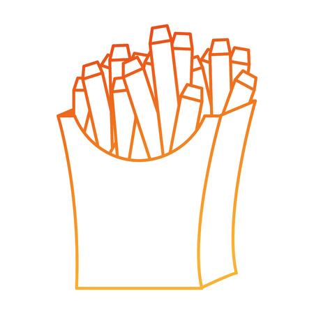 delicious french fries icon vector illustration design Zdjęcie Seryjne - 111928417