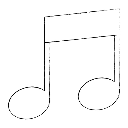 musical note isolated icon vector illustration design 写真素材 - 106560562