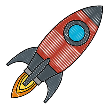 rocket start up icon vector illustration design 写真素材 - 111929158