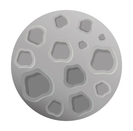 moon satellite space icon vector illustration design 스톡 콘텐츠 - 106608975