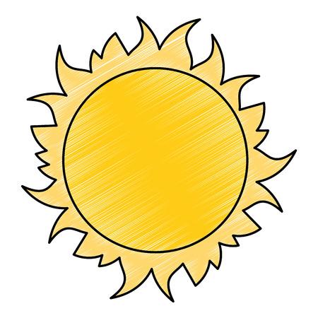star sun space icon vector illustration design