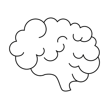brain storm isolated icon vector illustration design Stok Fotoğraf - 111861082