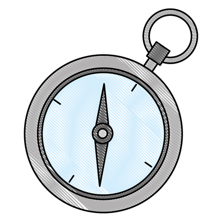 chronometer timer isolated icon vector illustration design Banque d'images - 111861133
