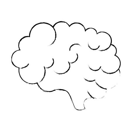 brain storm isolated icon vector illustration design Stok Fotoğraf - 111861185