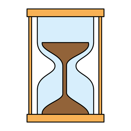 timer hourglass isolated icon vector illustration design Banque d'images - 106736865