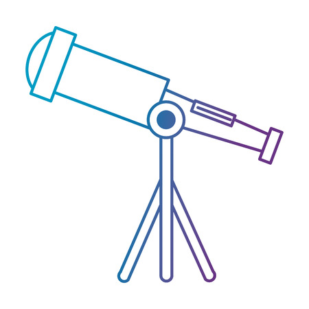 telescope device isolated icon vector illustration design Stok Fotoğraf - 111861299