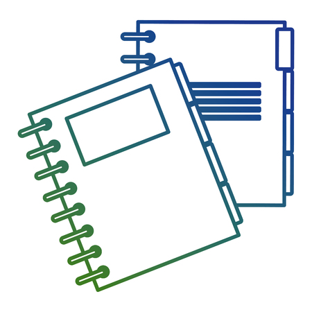 notebook agend isolated icon vector illustration design Banque d'images - 111865454