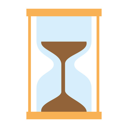 timer hourglass isolated icon vector illustration design