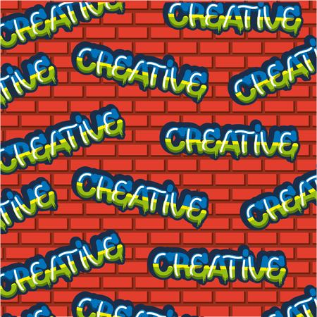 creative idea colors signs background vector illustration