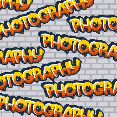 creative idea colors signs photographys background vector illustration