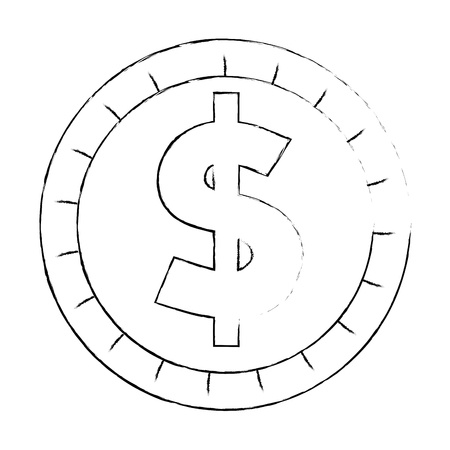 coin money isolated icon vector illustration design 写真素材 - 111721991
