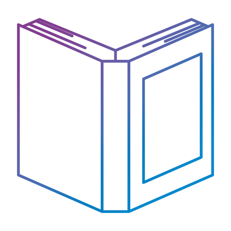 text book isolated icon vector illustration design  イラスト・ベクター素材