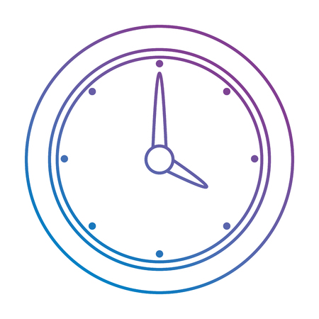time clock isolated icon vector illustration design Banque d'images - 106889956
