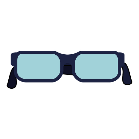 eye glasses isolated icon vector illustration design Foto de archivo - 111722111