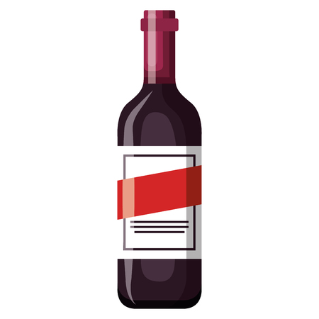 wine bottle drink icon vector illustration design Banco de Imagens - 106902397