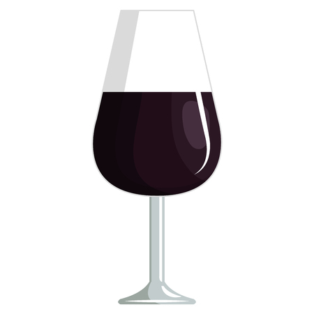 wine cup glass icon vector illustration design 일러스트