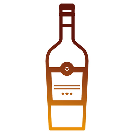 wine bottle drink icon vector illustration design Zdjęcie Seryjne - 106902602