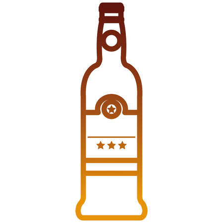wine bottle drink icon vector illustration design Иллюстрация