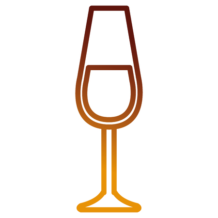 wine cup glass icon vector illustration design Illustration